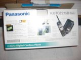 Panasonic cordless phone with answering machine in Spring, Texas