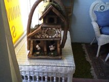 Hand made bird house from NC mountains in Cherry Point, North Carolina