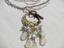 Antique Key on Repurposed Necklace in Kingwood, Texas