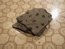 MILITARY THEME TWIN SHEET SET - $15 (HARKER HE in Fort Hood, Texas